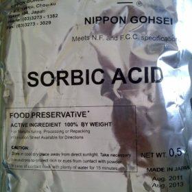 Acid Sorbic _Chất bảo quản_Chống nấm mốc