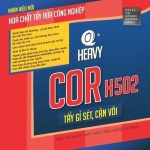 COR H502 - TẨY CẶN ỐNG DẪN NƯỚC TUẦN HOÀN