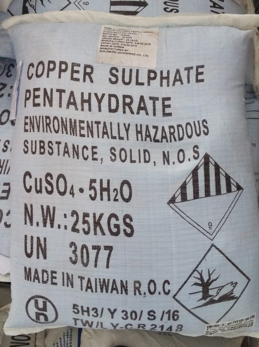 Coper Sulphate - CuSO4.7H2O - CuSO4.5H2O