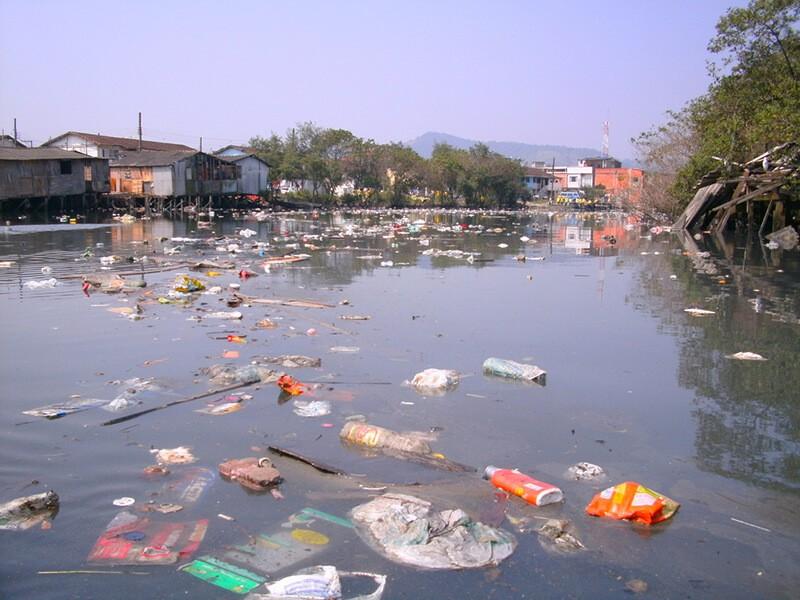 Ô nhiễm nguồn nước do thiên tai lũ lụt gây ra
