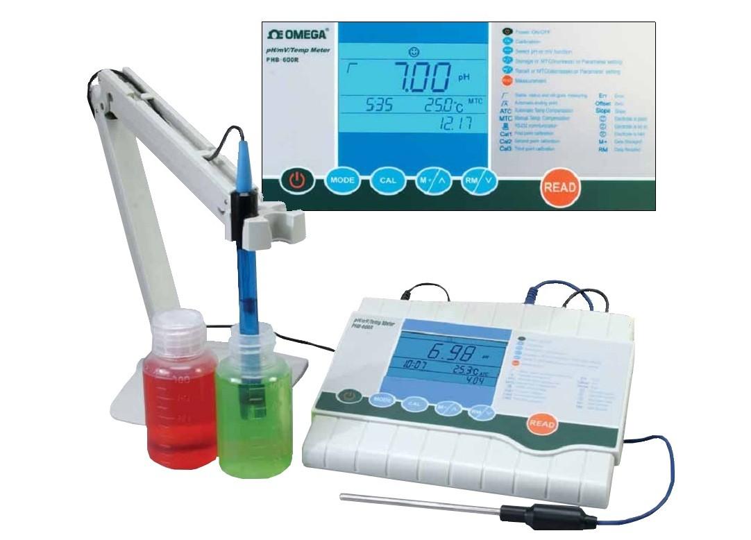 Hình ảnh máy đo pH để bàn