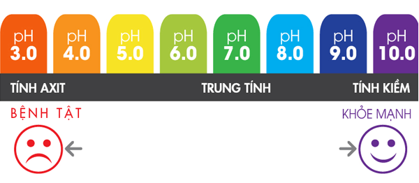 Ảnh hưởng độ pH lên đời sống sinh hoạt của con người