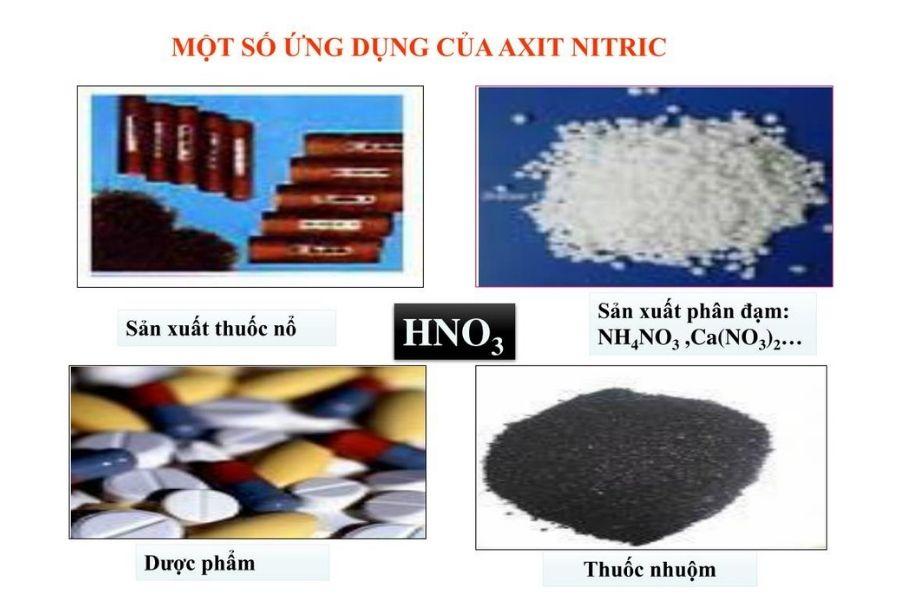 Ứng dụng của Axit Nitric