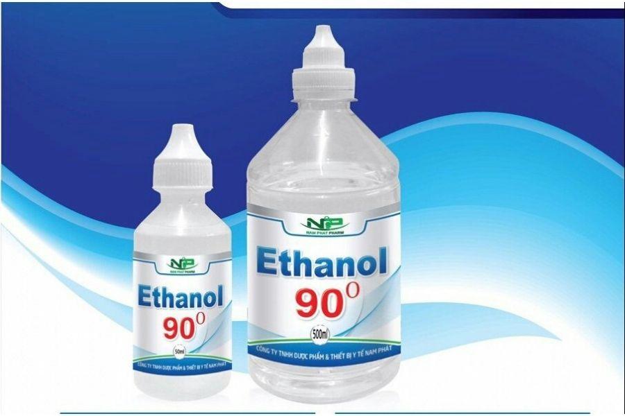 Ethanol được dùng nhiều trong y tế