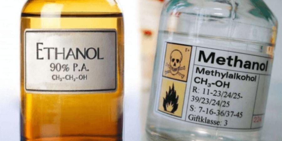 Ethanol và methanol
