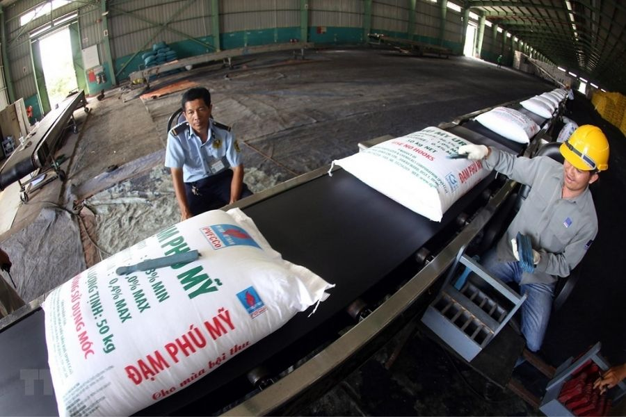 Sản xuất phân bón